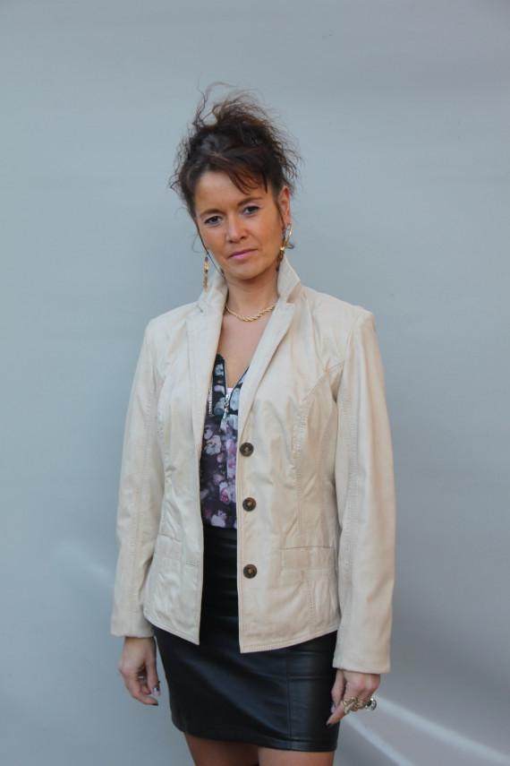 Veste cuir femme : ADINA