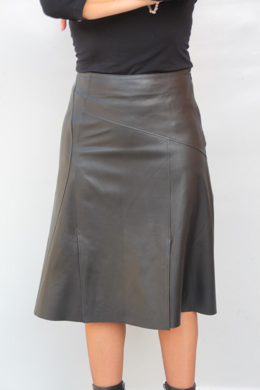 5a862e4aa045a Jupe longue cuir jupe courte en cuir   Reves de princesse