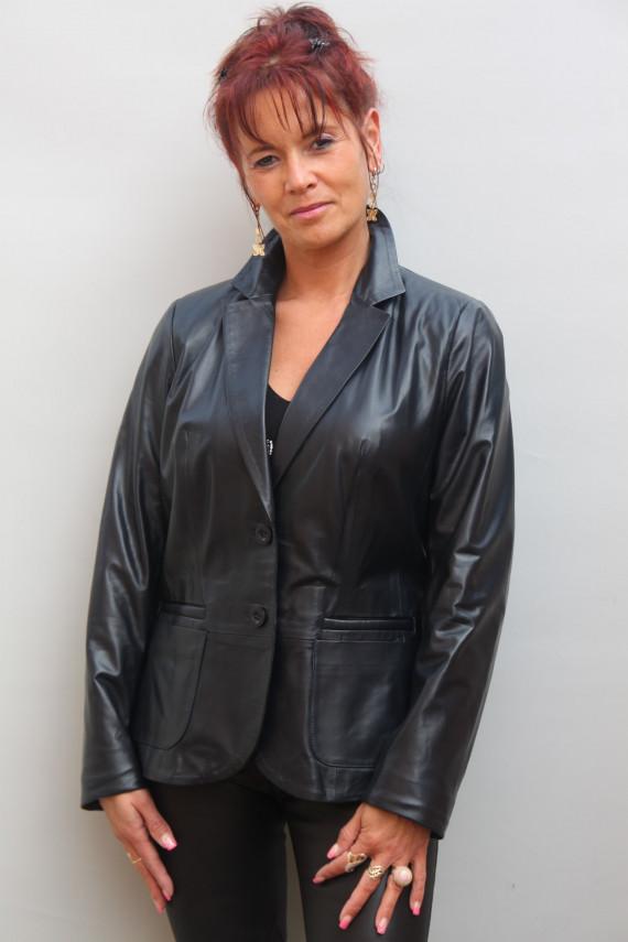 Blazer Cuir Femme : Andréa