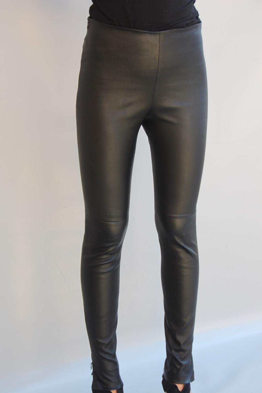pantalon cuir stretch femme 2 coloris biarritz. Black Bedroom Furniture Sets. Home Design Ideas