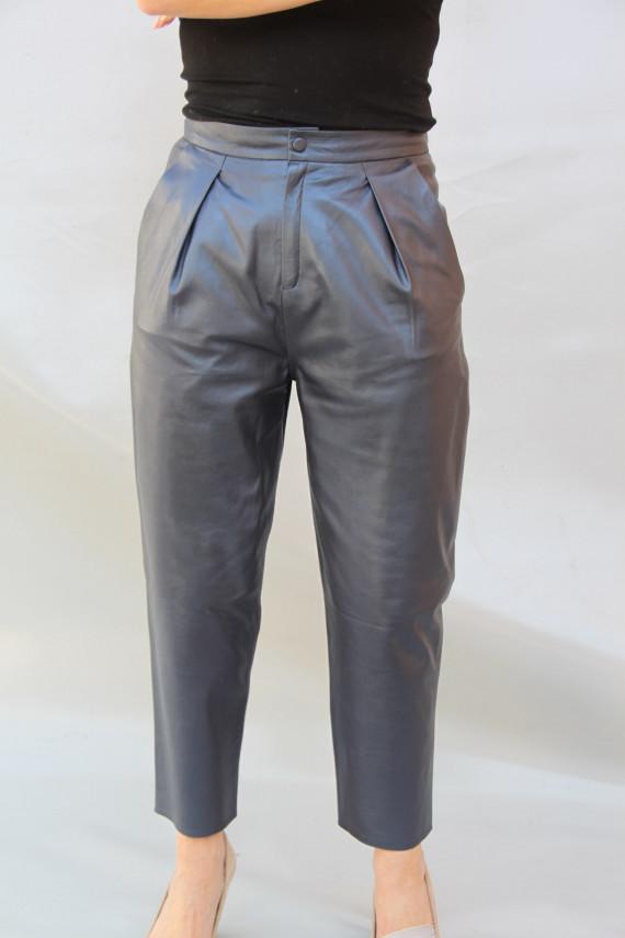 Pantalon cuir femme : aurore 2