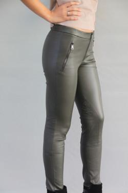 Pantalon cuir stretch femme : DESIREE. K
