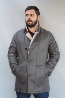 Veste peau lainée homme : HARDY