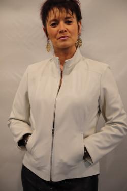 Blouson cuir femme : nina