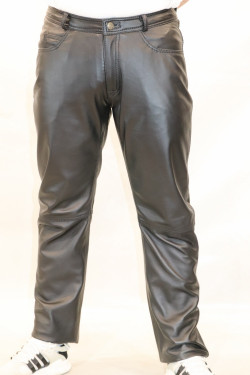 pantalon cuir homme : normal ag