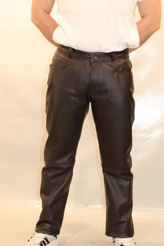 pantalon cuir homme : normal .v