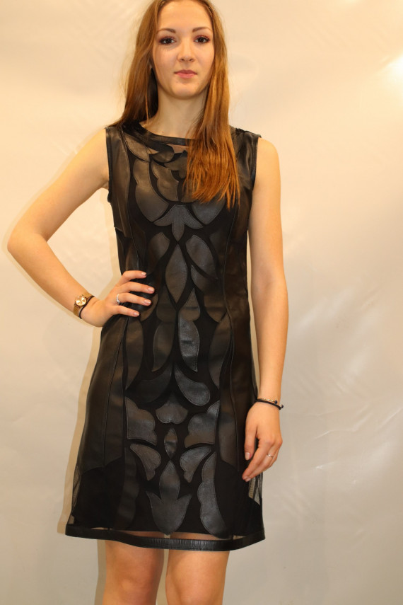 robe cuir femme : madrid.