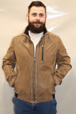 Blouson cuir homme : 42726.B