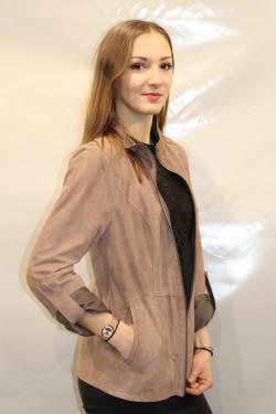 veste réversible cuir femme : LAKE.T.