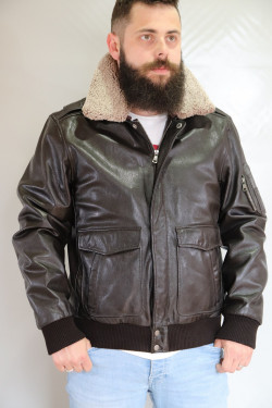 Blouson cuir homme : FALCON