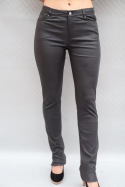 Pantalon cuir stretch femme : jean.A