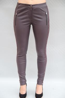 Pantalon cuir stretch  femme : LAKAY.A