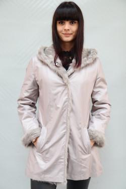 veste réversible pelisse fourrure femme : puebla