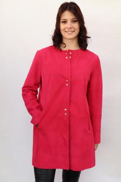veste cuir velours femme : elea.f