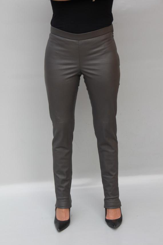 Pantalon cuir stretch femme : GALWAY