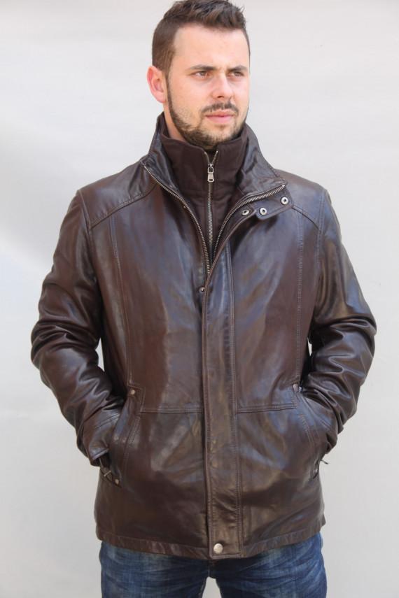 veste cuir homme : gloster