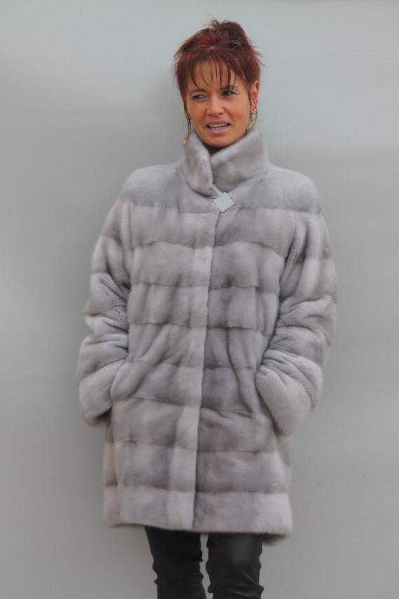 veste 3/4 fourrure vison femme : 201