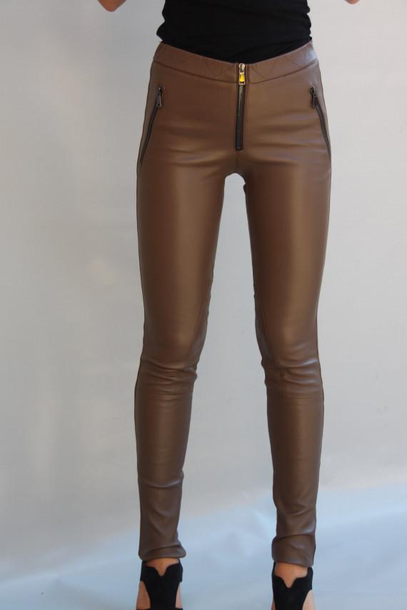 pantalon cuir stretch femme 4 coloris : désirée