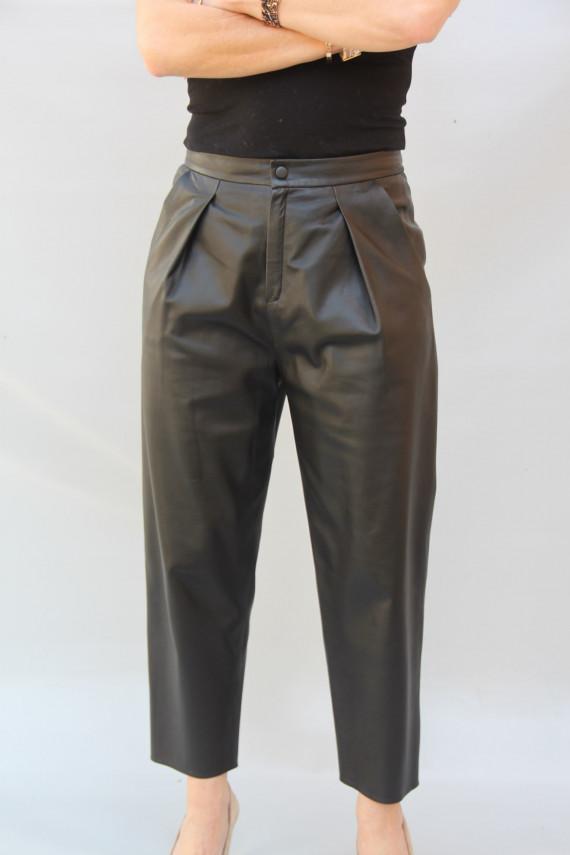 Pantalon cuir femme : aurore 1