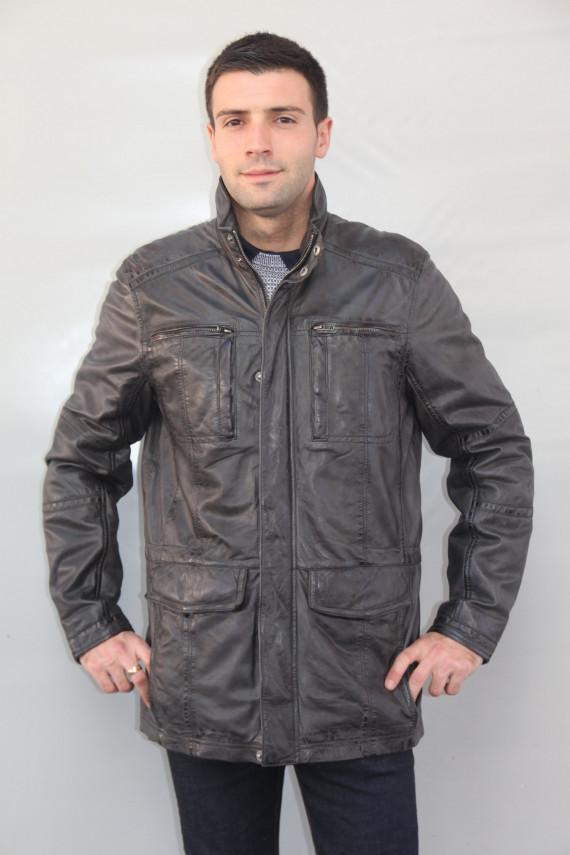 Veste cuir homme 2 coloris : glasgow.2