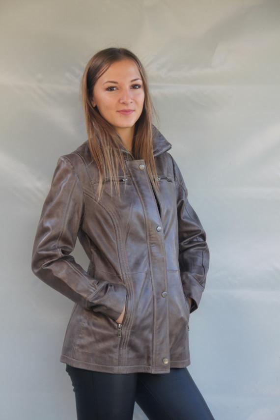 veste cuir  femme : bettie T