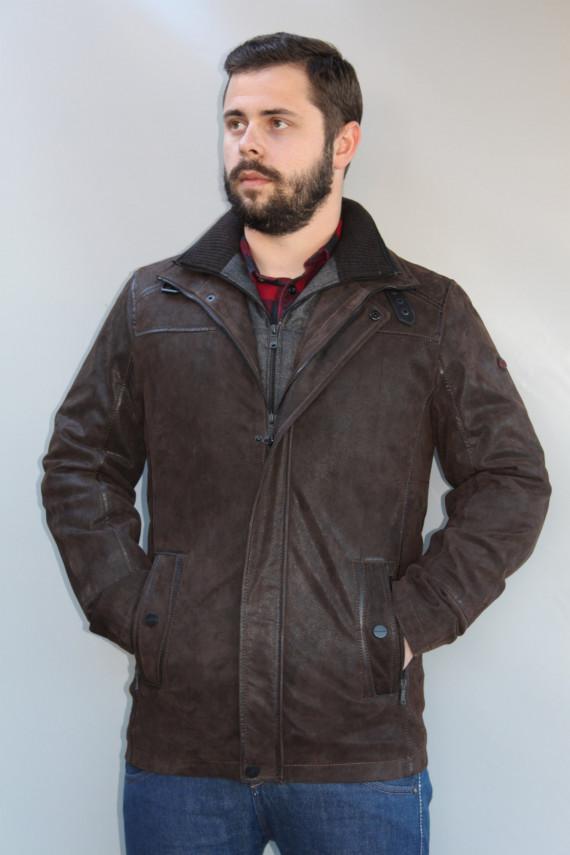 veste cuir homme : 42714. b
