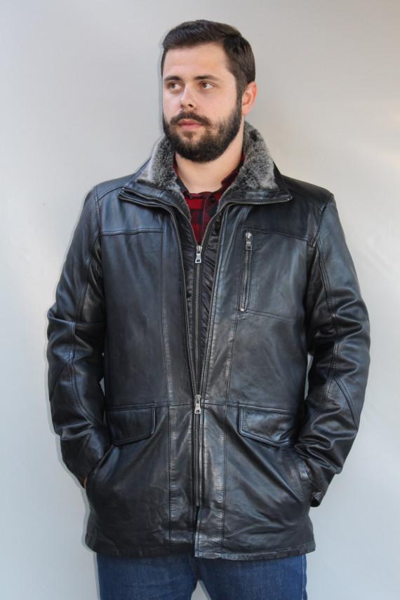 veste cuir homme : darold