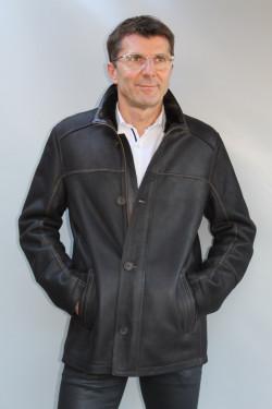Veste peau lainée homme : CN.28